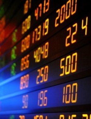 Доска котировок ценных бумаг
